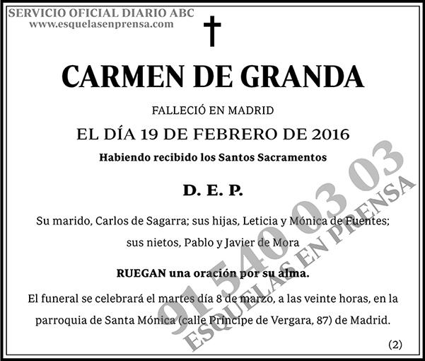 Carmen de Granda